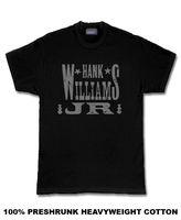 Hank Williams Jr Land Rockabilly T-shirt Kwaliteit Print Nieuwe Zomer Stijl Katoenen Top Tee 2017 Nieuwe Men'S T-Shirt