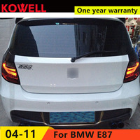 KOWELL car styling For BMW E87/E81 120 130 taillights 04 11 for E87/E81 120 130 rear lights dedicated car light led taillight as