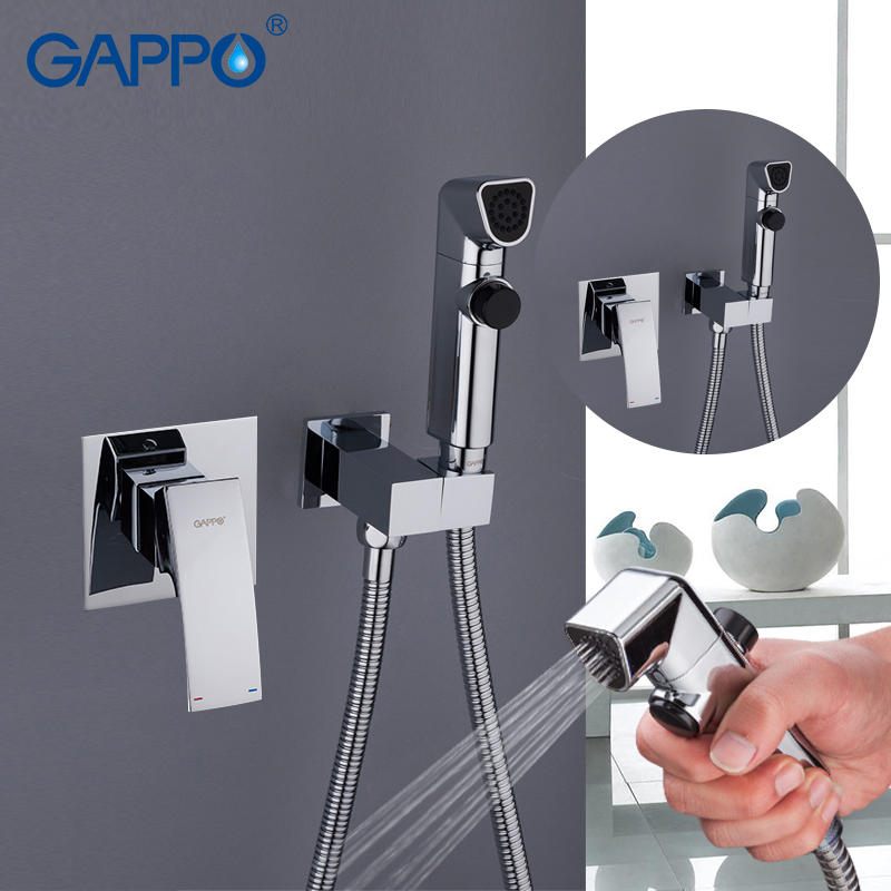 GAPPO Bidet Faucets toilet shower bidet handheld shower muslim shower wall mount bidet portable sprayer faucet                  GAPPO Bidet Faucets toilet shower bidet handheld shower muslim shower wall mount bidet portable sprayer faucet