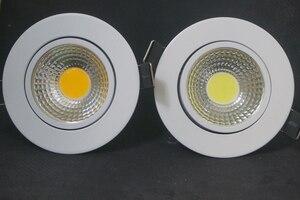 Image 4 - Dimmable LED Downlight 5W 7W 9W Spot LED DownLights Dimmable cob LED Spot Recessed down lights for living room 110v 220v