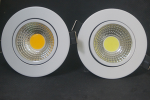 Image 4 - Dimmerabile LED Imbottiture luce 5W 7W 9W Spot LED Imbottiture Luci Dimmerabili cob LED Spot Da Incasso Imbottiture luci per soggiorno 110v 220v
