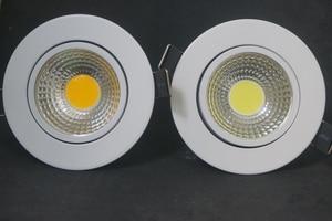 Image 4 - عكس الضوء LED النازل 5 واط 7 واط 9 واط بقعة LED النازل إضاءة جدارية ليد قابلة للخفت بقعة راحة أسفل أضواء لغرفة المعيشة 110 فولت 220 فولت
