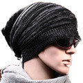 New Unisex Womens Mens Knit Baggy Beanie Hat Warmer cap Oversized Ski Cap Q35