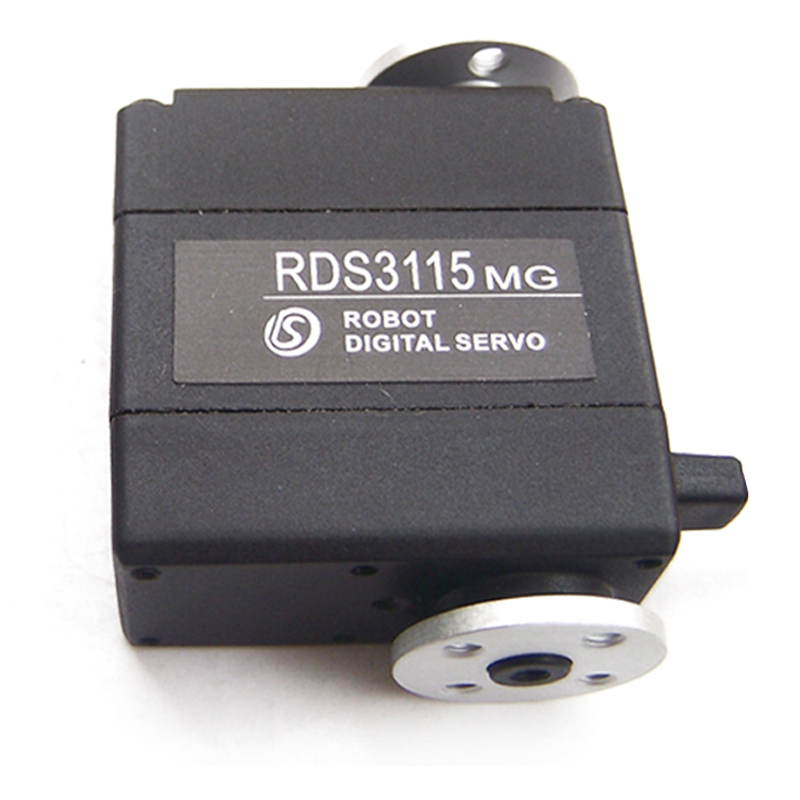 Free shipping metal gear digital servo for DIY RDS 3115 arduino servo robot 15KG CM