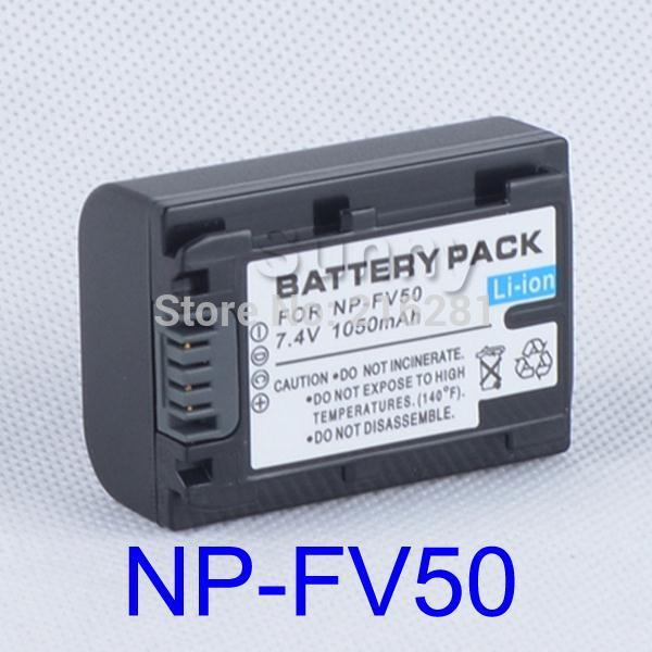 Battery pack for Sony NP-FV30, NP FV30, NP-FV50, NP FV50, NP-FV70, NP FV70, NP-FV100 InfoLithium V Series --- 1050MAH