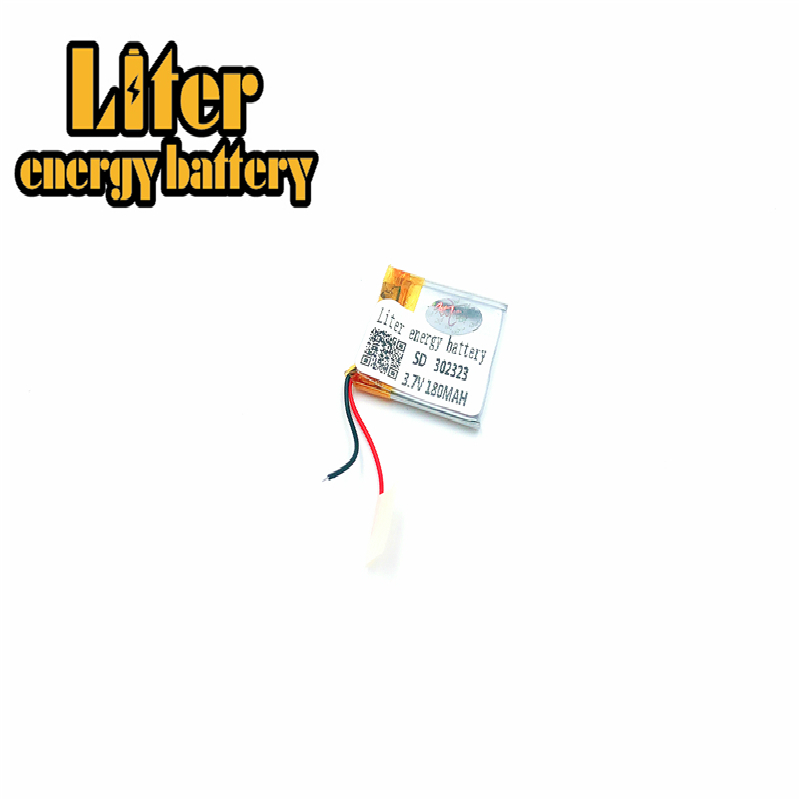 Size 302323 <font><b>302525</b></font> 3.7v 150mah Lithium Polymer Battery With Board For Mp3 Mp4 Mp5 Gps Digital Products Fr image