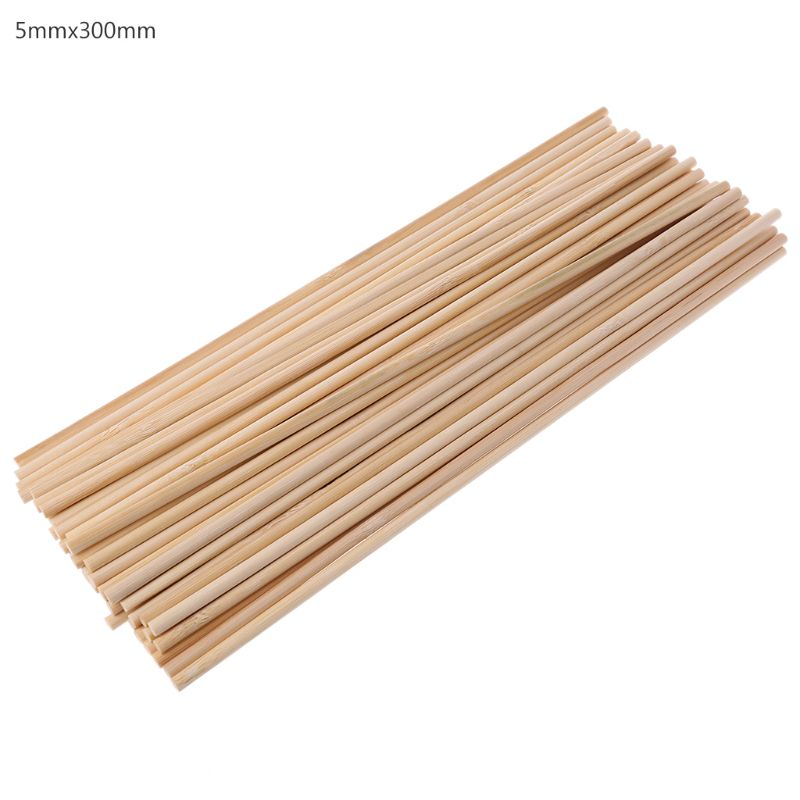 50 Wooden Plant Grow Support Bamboo Plant Sticks Garden Canes Plants Flower Support Stick Cane|Plant Cages & Supports| |  - title=