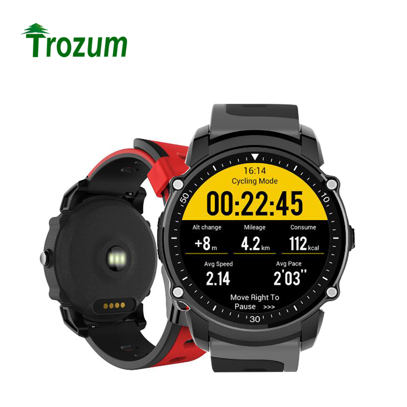 FS08 Smart Watch Men Fitness Tracker IP68 Waterproof GPS Sports Stopwatch Heart Rate Monitor Wristwatch Clock for Android IOS fs08 gps smart watch mtk2503 ip68 waterproof bluetooth 4 0 heart rate fitness tracker multi mode sports monitoring smartwatch