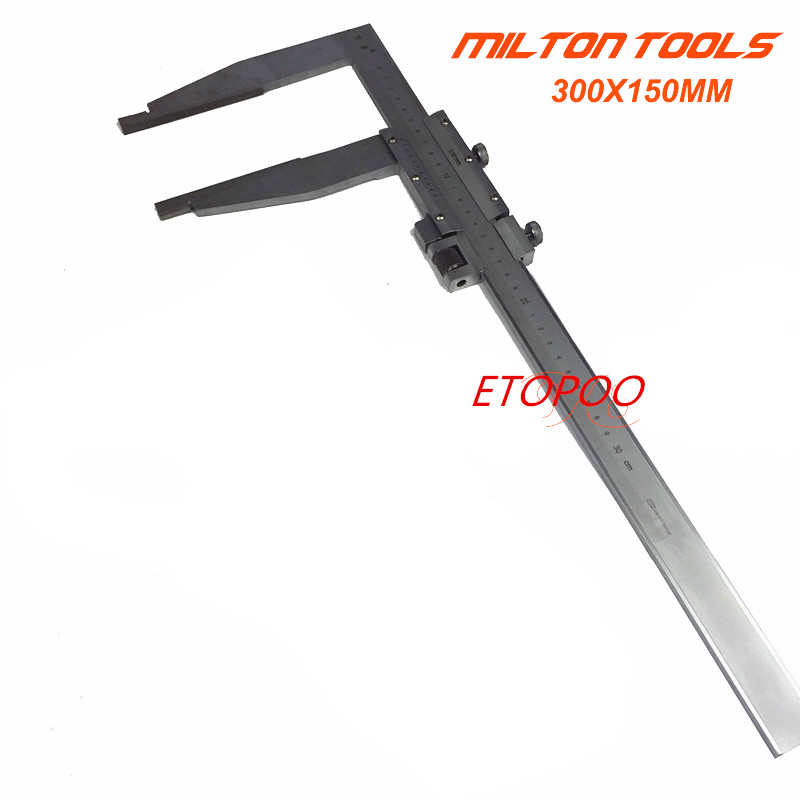 High quality 0 300mm Heavy Duty Vernier Caliper 12inch vernier caliper with 150mm long jaw 300x150mm