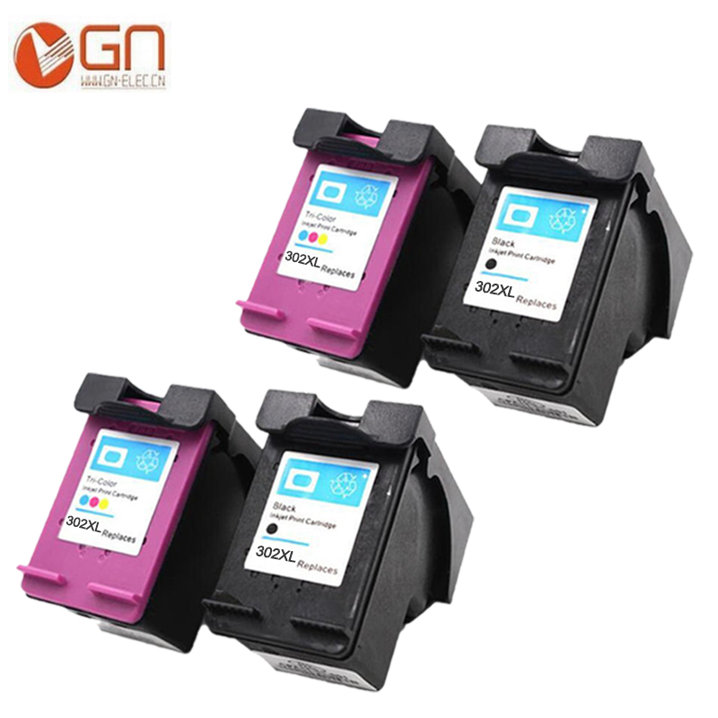 GN For HP 302 XL 302XL ink cartridge for HP DeskJet 1110 2130 for HP Envy