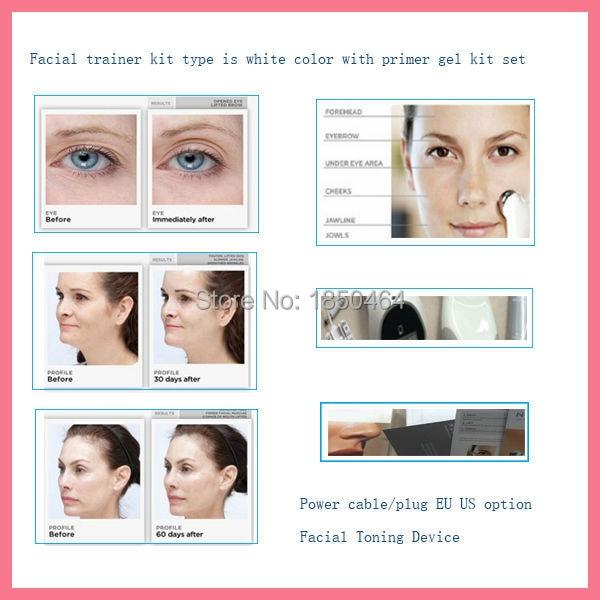 Toning system facial electronic