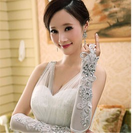wedding gloves 10