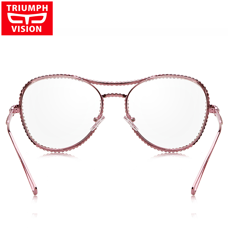 TRIUMPH VISION Pink Glasses Frame Women No աստիճանի - Հագուստի պարագաներ - Լուսանկար 4