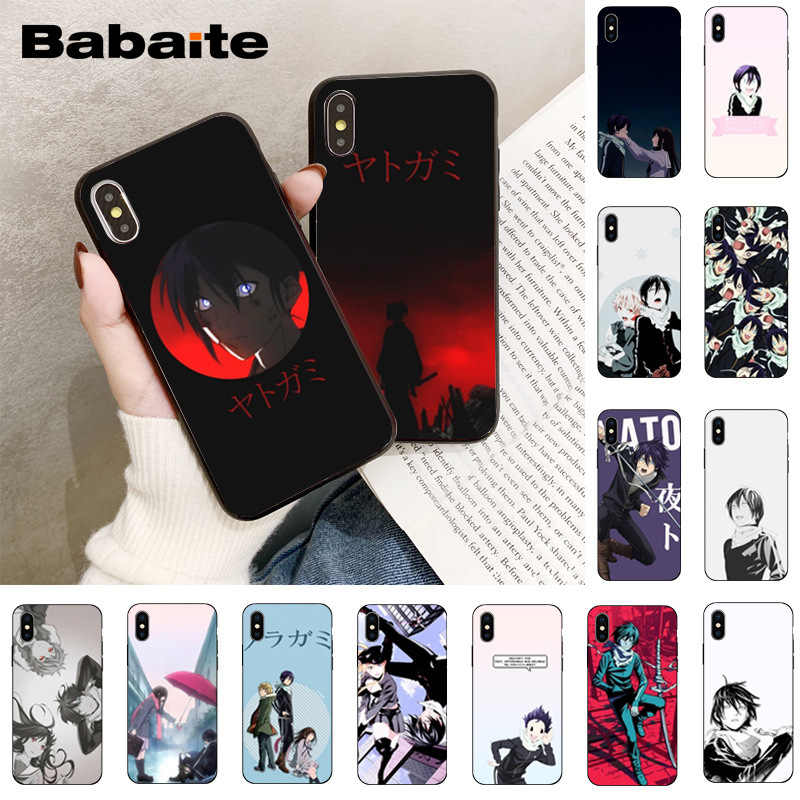 Casing Ponsel Babaite Noragami Yato Anime Coque Shell UNTUK iPhone 8 7 6 6S Plus 5 5S SE XR X XS MAX Coque Shell 11 11Pro 11Promax
