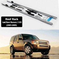 Roof Rack For Land Rover Discovery 3 LR3 2005 2009 Racks Rails Bar Luggage Carrier Bars top Racks Rail Boxes Aluminum alloy