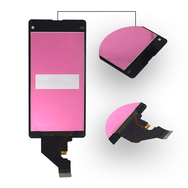 """Image 2 - 4.3"""" AAA quality display For SONY Xperia Z1 Mini D5503 display+touch screen for SONY Xperia Z1 Compact LCD display with frame-in Mobile Phone LCD Screens from Cellphones & Telecommunications"""