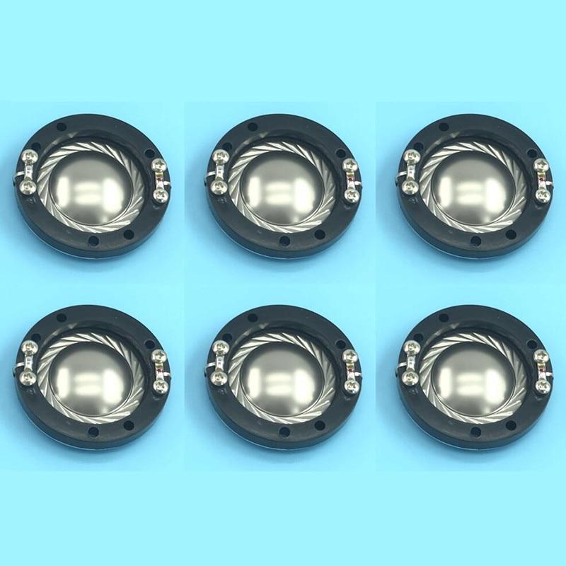 6pcs Replacement Diaphragm 34 4mm Samson Hartke Driver HG00336 CD34TI 8 ohm 34 4mm