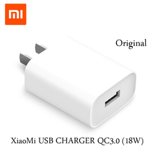 Original XiaoMi Phone Charger QC3.0(18W) Fast Charge Version For Xiaomi for iPhone for Samsung /White