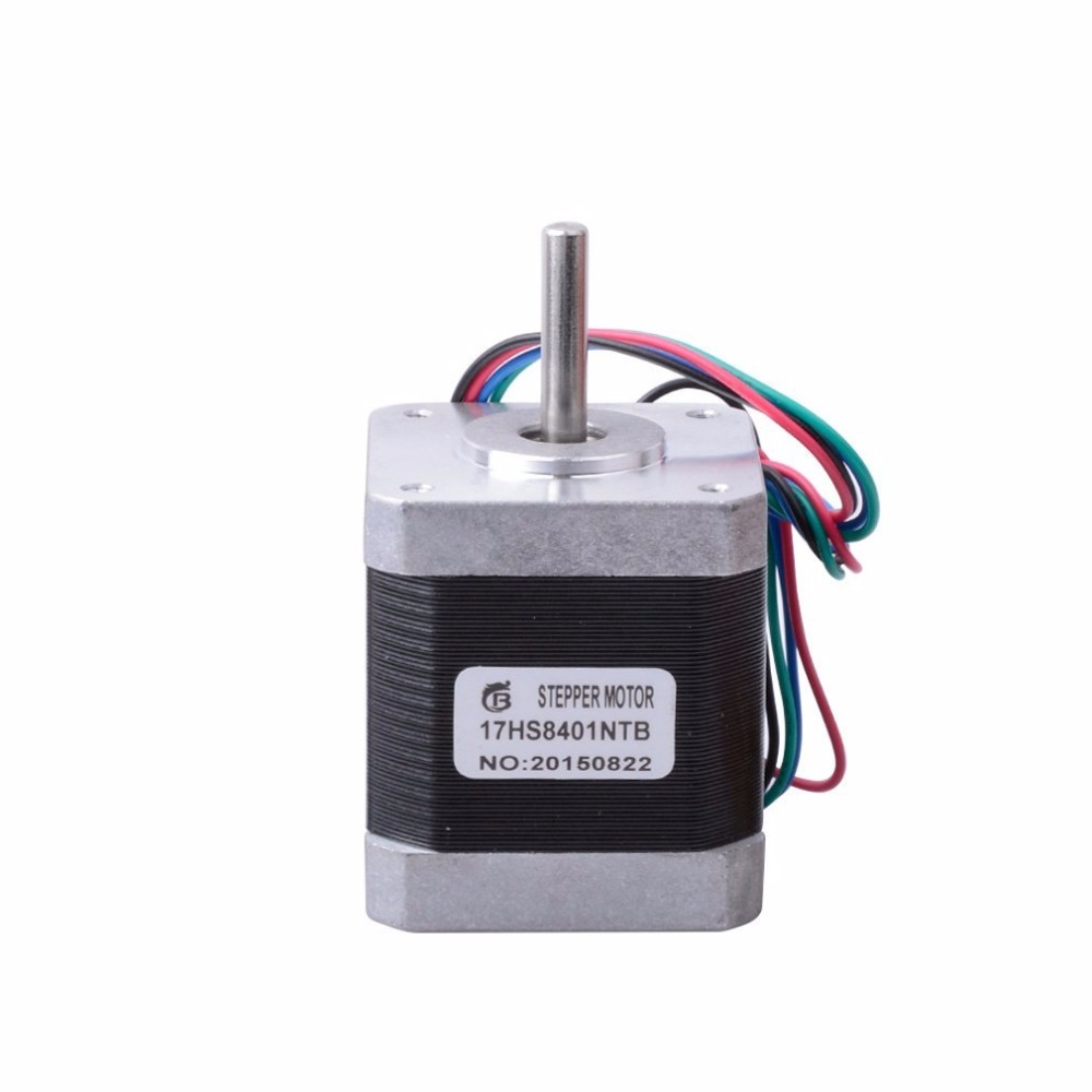 5pcs 4-lead Nema17 Stepper Motor for 3D printer 42 motor Nema 17 motor 42BYGH 1.7A (17HS4401) motor for CNC XYZ блокнот на греческом побережье на резинке а5