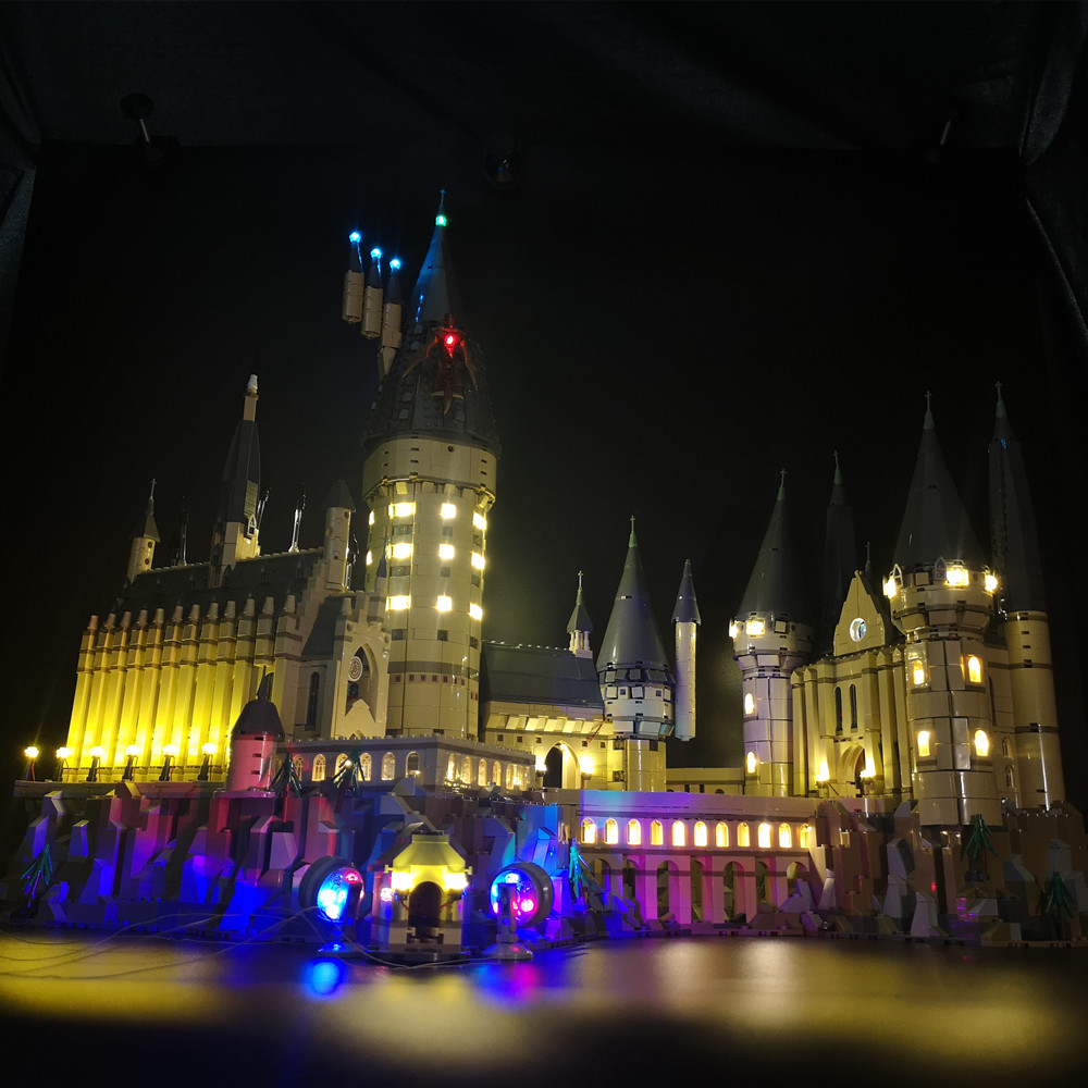Led Light Set For Lego 71043 Harry Movie Compatible 16060 creator Hogwarts Castle Building Blocks Bricks
