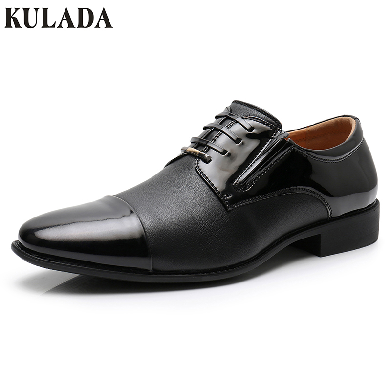 KULADA High Quantiy Mens Classic Shoes Pointed Toe Dress Shoes Men Oxford Shoe For Busin ...