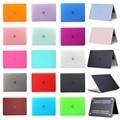 2016 Новый Macbook Pro 13 15 с и без Сенсорного Бар A1706/A1708/A1707 Матовая Поверхность Матовая Жесткий Чехол