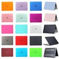 For 2016 New Macbook Pro 13 15 with and without Touch Bar A1706/A1708/A1707 Frosted Surface Matte Hard Cover Case