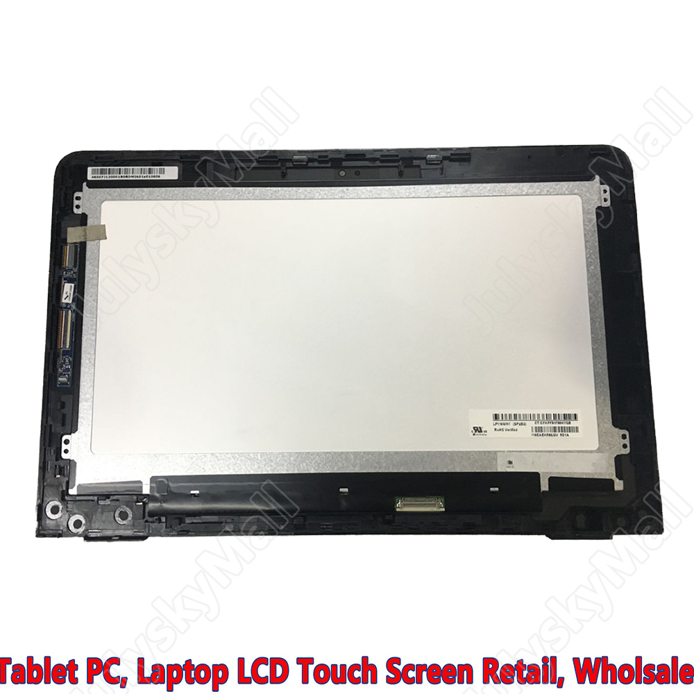 11.6 LCD + Touch Screen digitizer Assembly HD For HP Pavilion X360 11-U 11-u015la 11 6 inch laptop screen assembly lcd led display touch glass panel digitizer for hp pavilion x360 11k 11 k