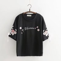 shirt Wome shirt funny stick figures cute t shirt women fashion brand harajuku tops U614