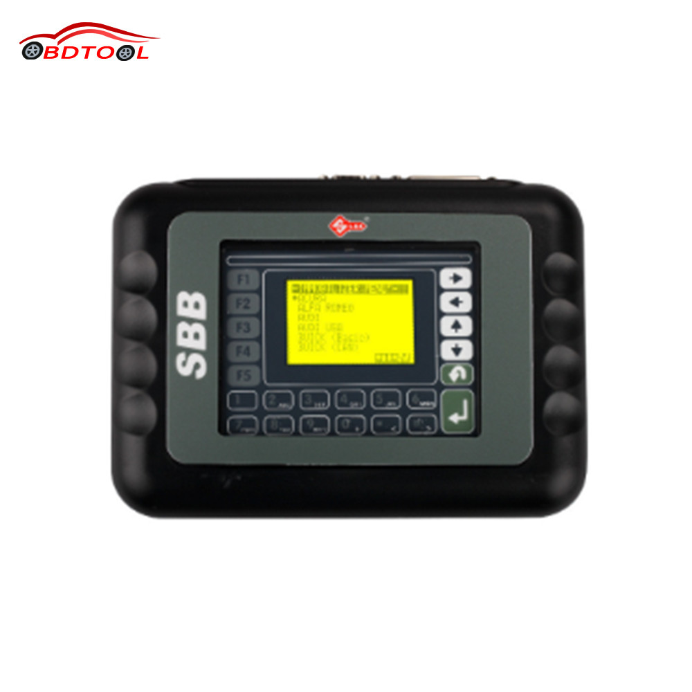 5pcs/2017 New SBB Key Programmer V33.02 No Token For Multi-Cars SBB Auto Key Maker By Immobilizer