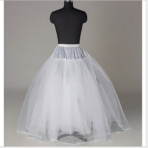 Image 5 - JaneViniอุปกรณ์การแต่งงานสีดำชั้นT Ulleกระโปรงสำหรับชุดแต่งงานยาวชั้นในสายกระโปรงคึกคักPetticots