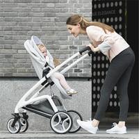Luxury Baby Stroller High Land Scape Pram Portable Kinderwagen Folding Bebek Arabasi Travel System Poussette