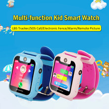 T15 Kid Smart Watch Phone for Children Girls Boys watch Touch Screen Camera Smartwatch SIM Anti-lost SOS Alarm for iOS Android(China)