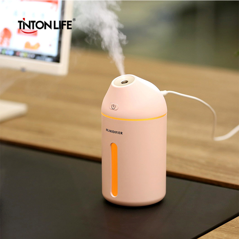TINTON LIFE USB Interface Air Humidifier Ergonomic Spray Angle Vehicle Office Home Humidifier tinton life usb interface air humidifier ergonomic spray angle vehicle office home car humidifier