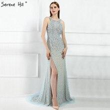 Женское вечернее платье с юбкой годе, длинное платье с блестками и бисером, LA6195, 2020