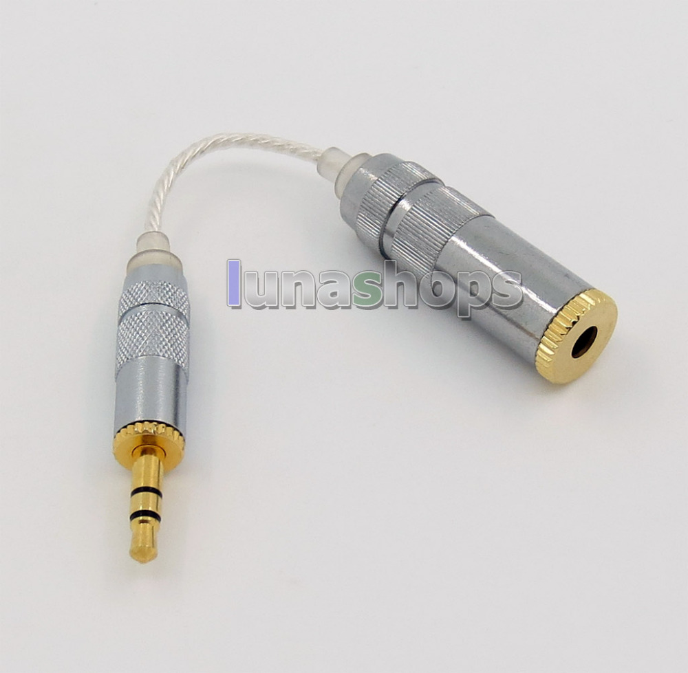 4.4 мм кабель наушников для Sony pha-2a ta-zh1es nw-wm1z nw-wm1a AMP плеер до 3.5 мм 3 pole Мужской конвертер адаптер ln005745