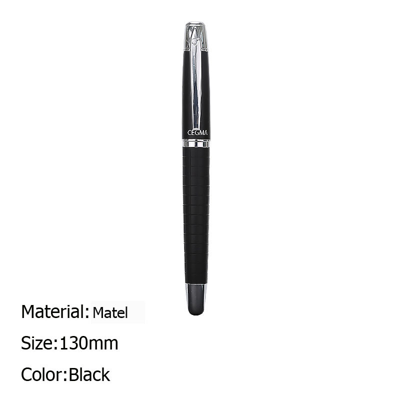 Fountain Pen Luxury Business Office Writing Iridium Pen Exquisite Boxed High Quality 0.5mm Fountain Pen Stationery Gift Pen segal business writing using word processing ibm wordstar edition pr only