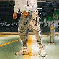 Zogaa 2019 New Mens Cross Pants Fashion Cotton Casual Male Sporting Jogger Pants Hip Pop Mens Pants