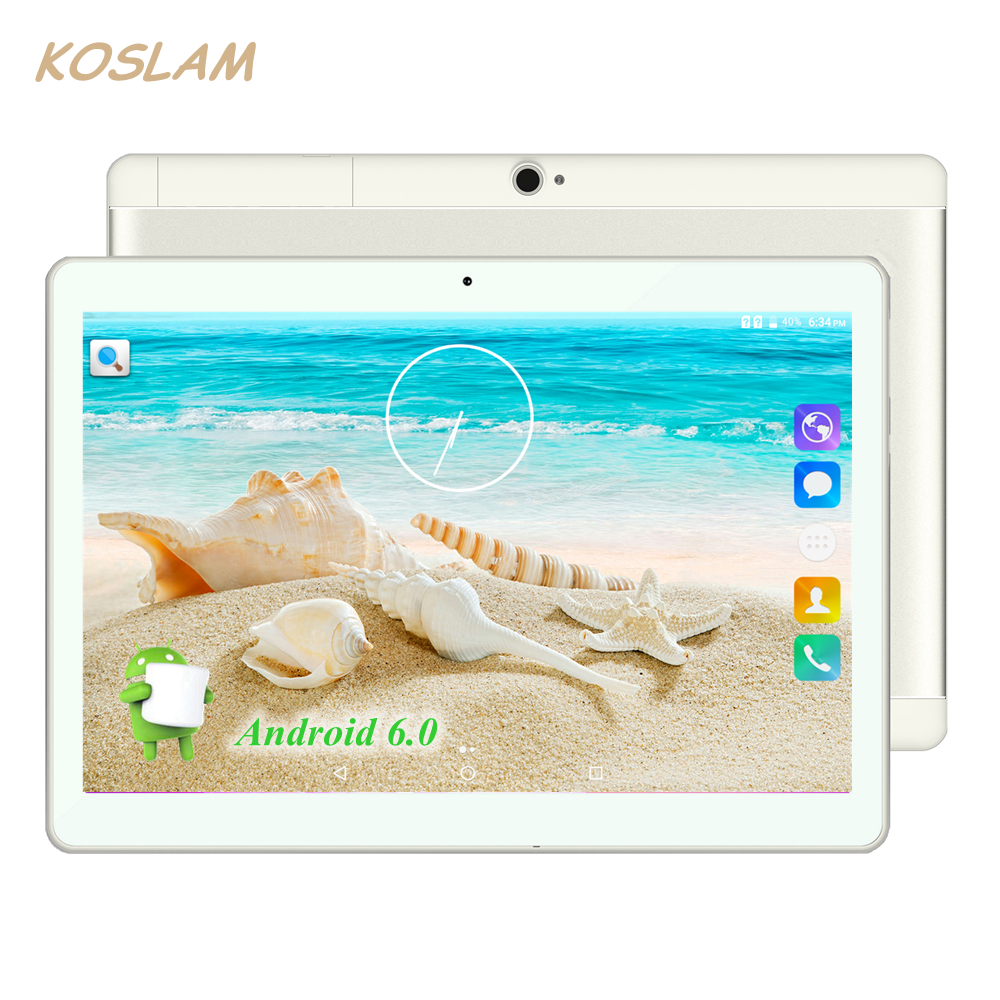 Android 5.1 Tablets PC Tab Pad 10 Inch IPS 1280×800 MTK Quad Core 1GB RAM 16GB ROM Dual SIM Card 3G Phone Call 10″ Phablet