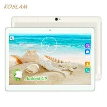 "2017 Nuevo Android 7.0 Tabletas PC Tab Pad 10 Pulgadas IPS 1280×800 Quad Core 1 GB RAM 16 GB ROM de Doble Tarjeta SIM 3G Llamada de Teléfono 10 ""Phablet"