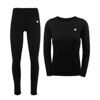 Outdoor Sports Thermal Underwear Set Polartec Winter Warm Long Johns Thermo Underwear Top And Pants Cycling