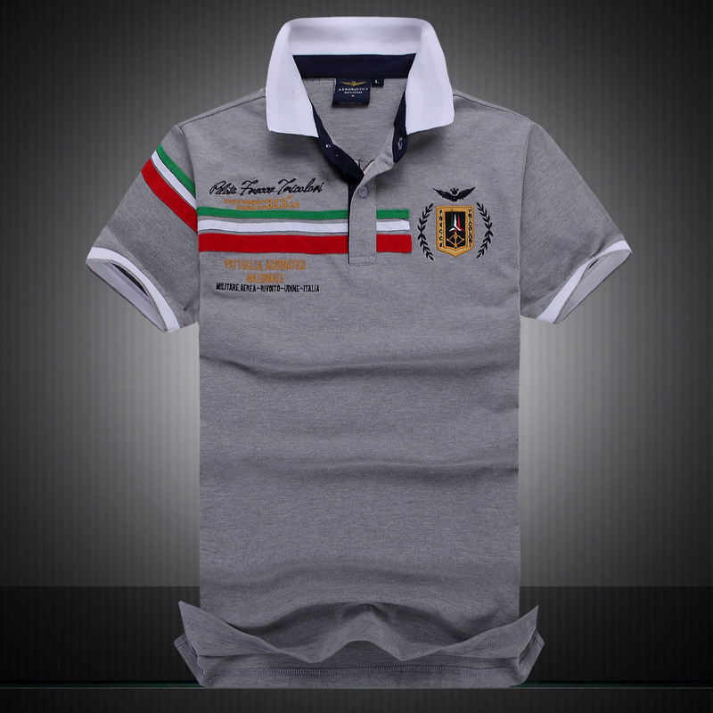 Summer New   Polo   Shirt Men's Fashion Leisure   Polo   Shirt Boutique Embroidery Breathable 100% Cotton Stitching   Polo   Shirt