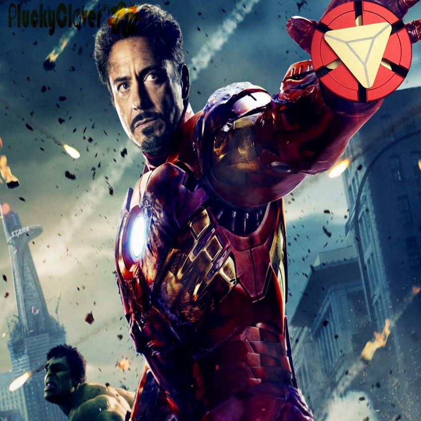 Avenger Iron-Man Superheroes Metal Hand Fidget Spinner End-Game /& 1 free!!!
