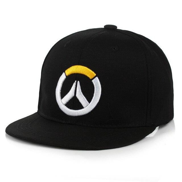 2018 nueva gorra de béisbol de Overwatch para Mujeres Hombres bordado  sombreros originales hueso Snap back cac4ba0c458