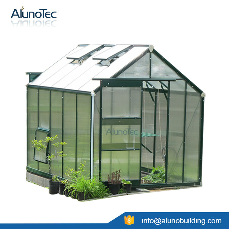 ALUNO W1886XL1880XH2100 Aluminium Walk In Greenhouse