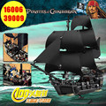 16006  804Pcs 39099 Pirates Of The Caribbean 4184 The Black Pearl Ship Model Building Kit Blocks BricksToy Compatible with lego