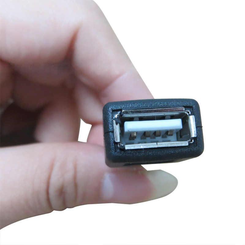 2 шт. 5,5x2,1 мм DC Женский к USB AF DC штыревой разъем питания кабель адаптер для ноутбука IJS998