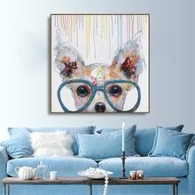 Watercolor Dog Animals Canvas Painting Calligraphy Poster and Prints Living Room House Wall Pictures Decor Art Home Decoration