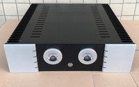 B 058 ЧПУ все алюминиевый корпус коробка шкаф для DIY аудио усилитель мощности 430 мм * 417 мм * 120 мм 430*417*120 мм