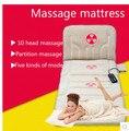 The whole body massage mattress multifunctional massage cushion for leaning on of vehicle heating cushion neck massager